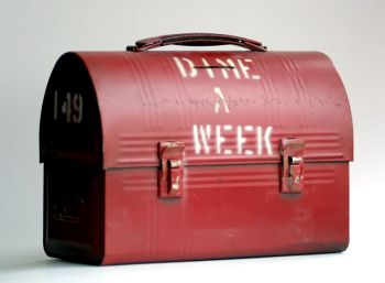 Red lunch pails were used to collect the first donations that helped fund CAN DO in 1956.