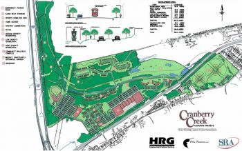The Cranberry Creek concept plan.